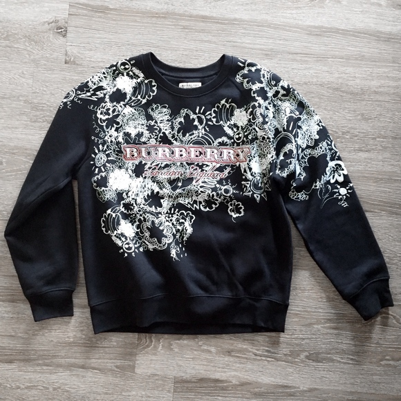 11efd4e18dd Burberry Other - BURBERRY london england graffiti black sweatshirt